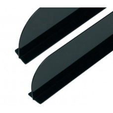 Separador Negro 75x9