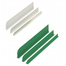 Separador Blanco + Verde - 2 Unidades